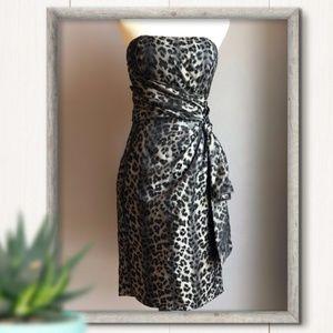 🙊NWT Maggy London dress. Leopard print. Sz 10